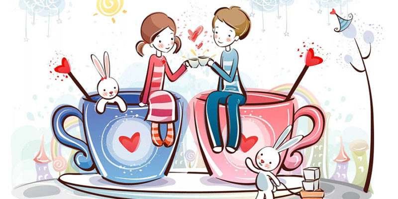 St.Valentine's Day is celebrated on the fourteenth of February